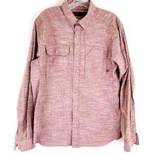 Mountain Hardwear Button Down Cotton Hiking Shirt